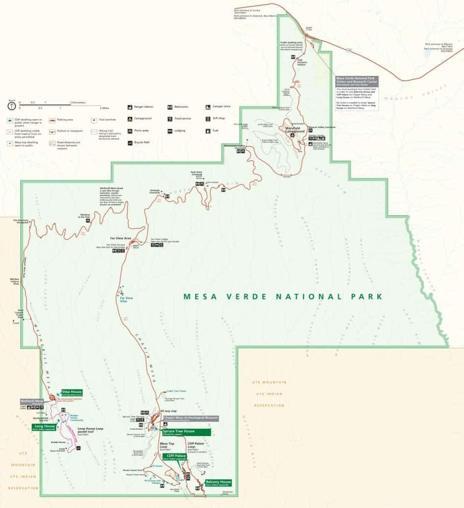 Map of Mesa Verde Country communities