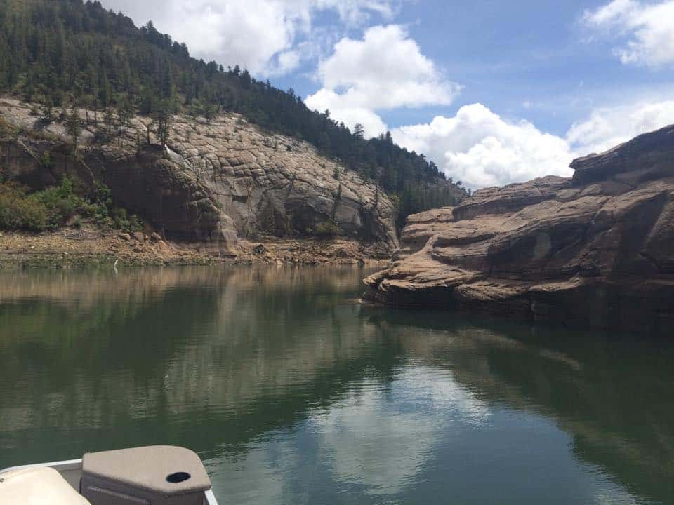 McPhee Reservoir in SW Colorado