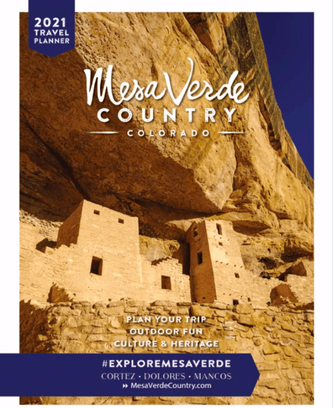 Cover of Mesa Verde Country travel planner