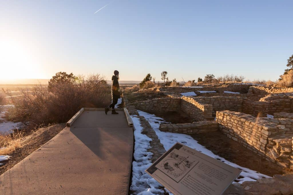 Mesa Verde National Park experience in the winter